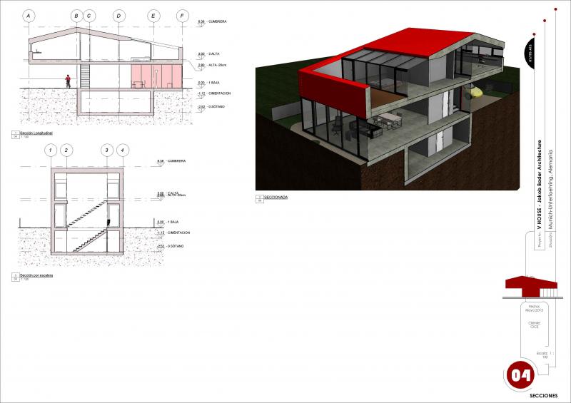 Proyecto Casa V. CURSO BIM MADRID