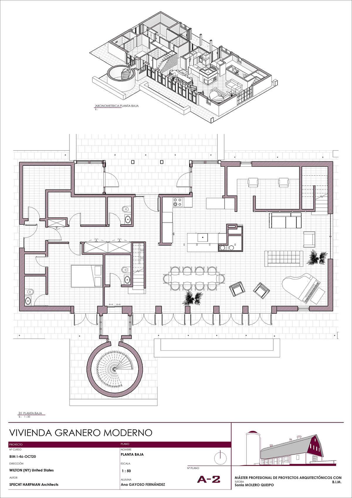 Composición de planos en Revit Architecture
