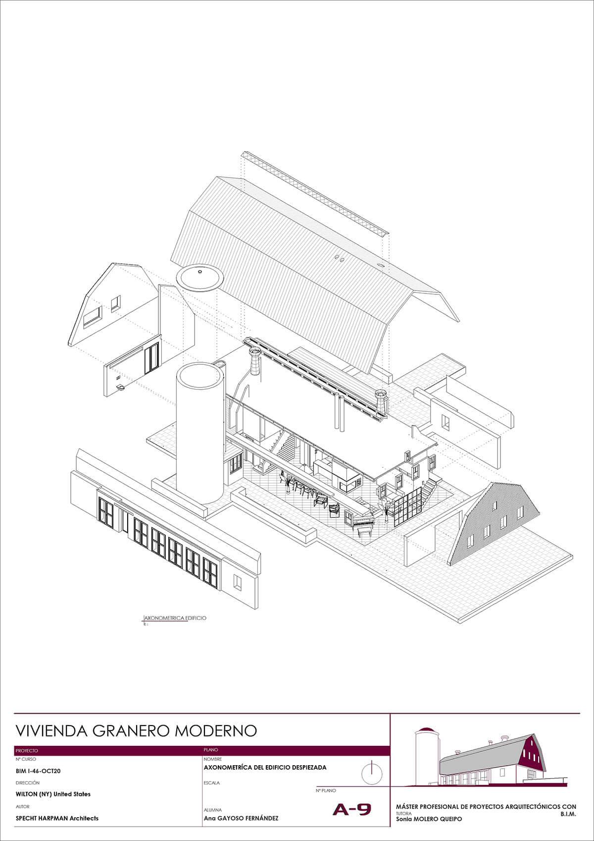 Descomponer Proyecto Arquitectura en BIM