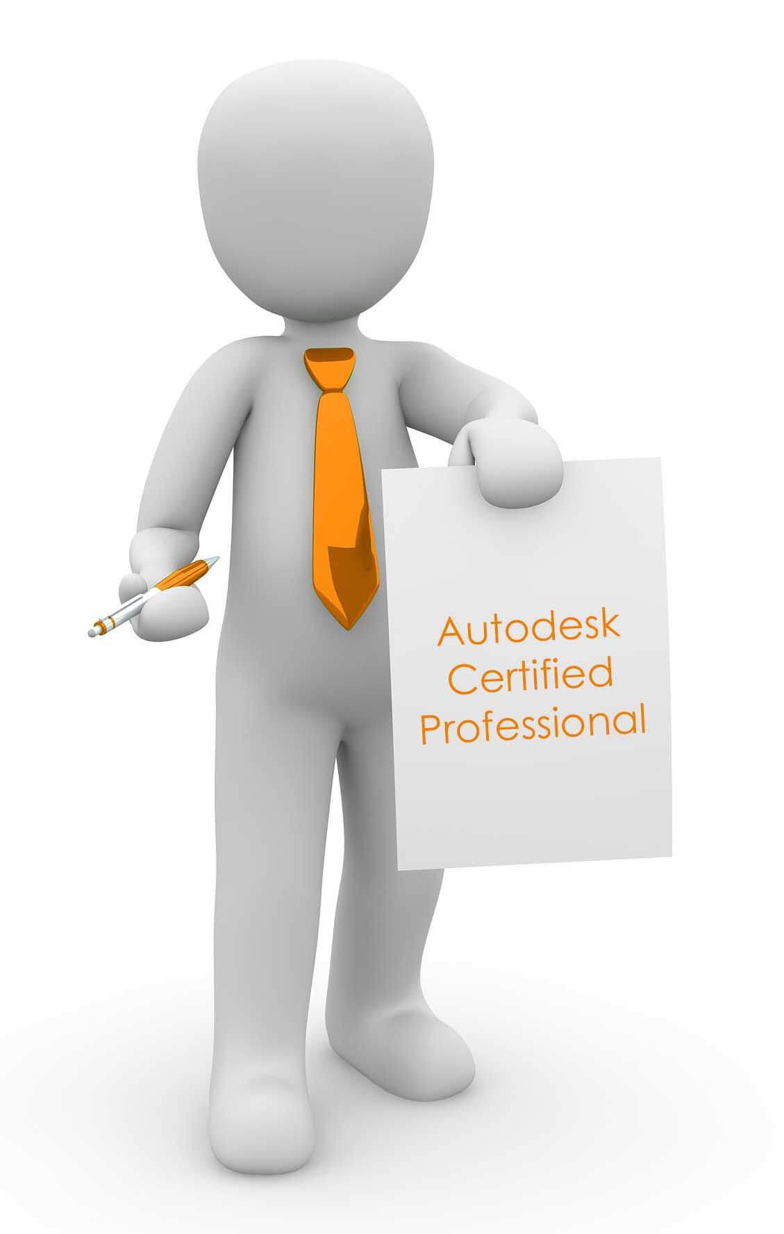 Consigue Certificado Profesional de Autodesk