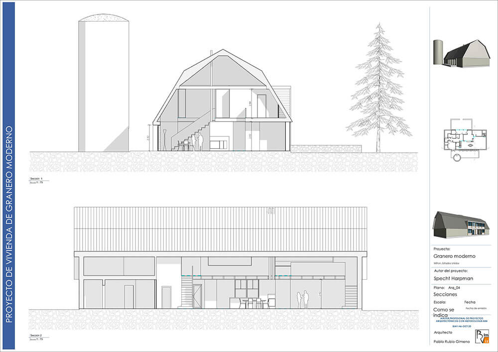 Proyecto de Arquitectura en BIM